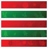 Christmas banners 3 Stock Photo