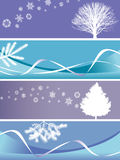 Christmas banners Royalty Free Stock Photos