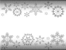 Christmas banners BW Royalty Free Stock Photo
