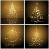 Christmas banners / cards Royalty Free Stock Image