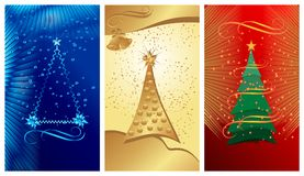 Christmas banners, cdr vector Stock Photos