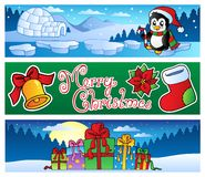 Christmas banners collection 2 Stock Image