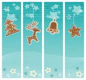 Christmas banners collection. Royalty Free Stock Photography