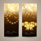 Christmas banners Stock Photography