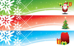 Christmas banners - Illustration Royalty Free Stock Photography