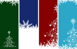 Christmas banners. Place your text here. Stock Image
