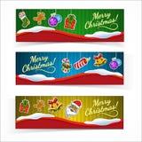 Christmas banners. Stock Photo