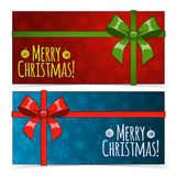 Christmas banners. Royalty Free Stock Photography