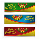 Christmas banners. Royalty Free Stock Photo