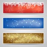 Christmas Banners Set Stock Image