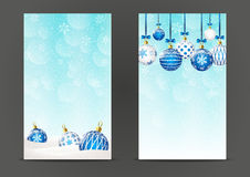 Christmas banners 240 x 400 size Stock Photos