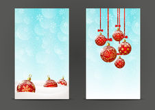 Christmas banners 240 x 400 size Royalty Free Stock Image