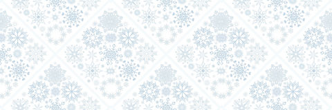 Christmas banners with snowflakes Royalty Free Stock Images