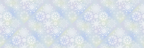 Christmas banners with snowflakes Stock Photo