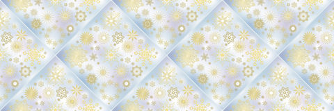 Christmas banners with snowflakes Royalty Free Stock Image