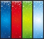 christmas banners, vector Royalty Free Stock Photography