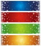 Christmas banners, vector Royalty Free Stock Photos