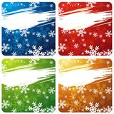 christmas banners, vector Stock Image