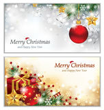 Christmas Banners stock illustration