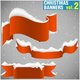 Christmas Banners vol.2 Stock Image