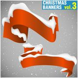 Christmas Banners vol.3 Royalty Free Stock Photography