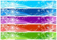Christmas banners for WWW Stock Photos