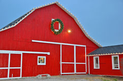 Christmas Barn Royalty Free Stock Photography