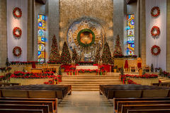 Christmas at the Basilica Royalty Free Stock Image