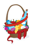 Christmas Basket Royalty Free Stock Image