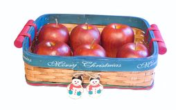 Christmas Basket. Stock Image