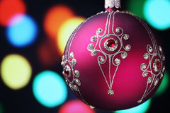 Christmas bauble. Stock Photo