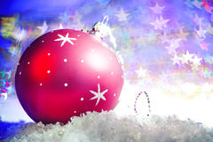 Christmas bauble Stock Photos