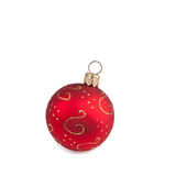 A christmas bauble Royalty Free Stock Photography