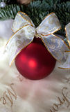 Christmas bauble Advent decoration Royalty Free Stock Photos