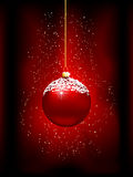 Christmas bauble background Stock Photos