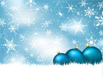 Christmas bauble background Royalty Free Stock Photo