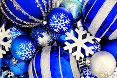 Christmas bauble background Royalty Free Stock Image