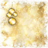 Christmas bauble background 1911 Stock Image