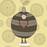 Christmas Bauble Boy Stock Photography