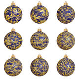 Christmas bauble collection Stock Photography