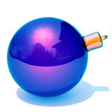Christmas bauble 3d illustration Stock Images