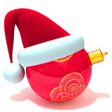 Christmas bauble 3d illustration Stock Image