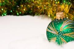 Christmas bauble decoration Stock Image