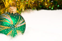 Christmas bauble and decoration Stock Images