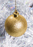 Christmas bauble decorations Stock Photos