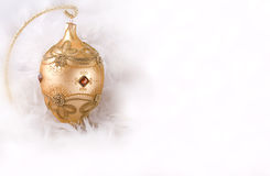 Christmas bauble Faberge egg Royalty Free Stock Photography