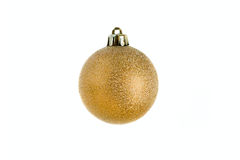 Christmas bauble isolated Royalty Free Stock Photo