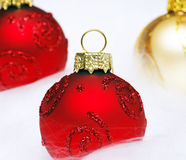 Christmas Bauble - Merry Christmas Stock Photography