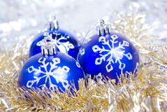 Christmas bauble. ornament Stock Photos