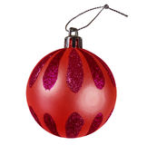 Christmas bauble - red Stock Photos